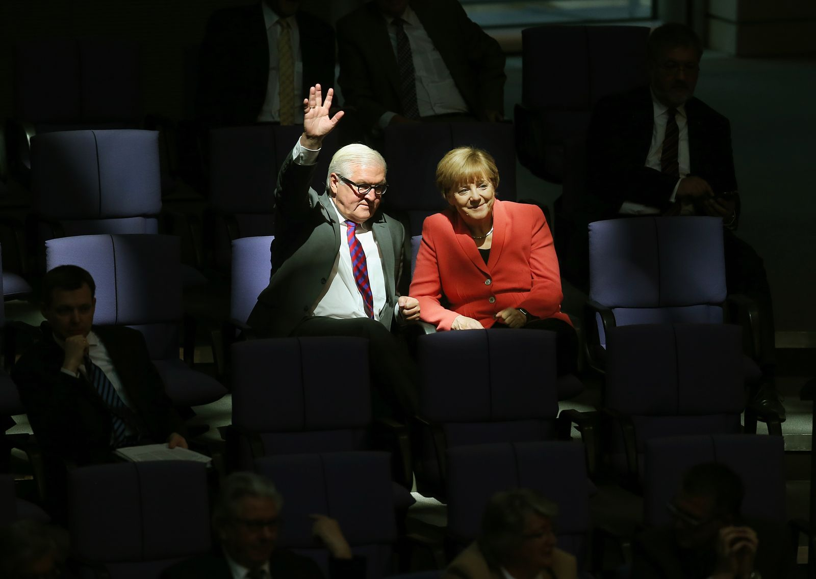 Steinmeier/ Merkel