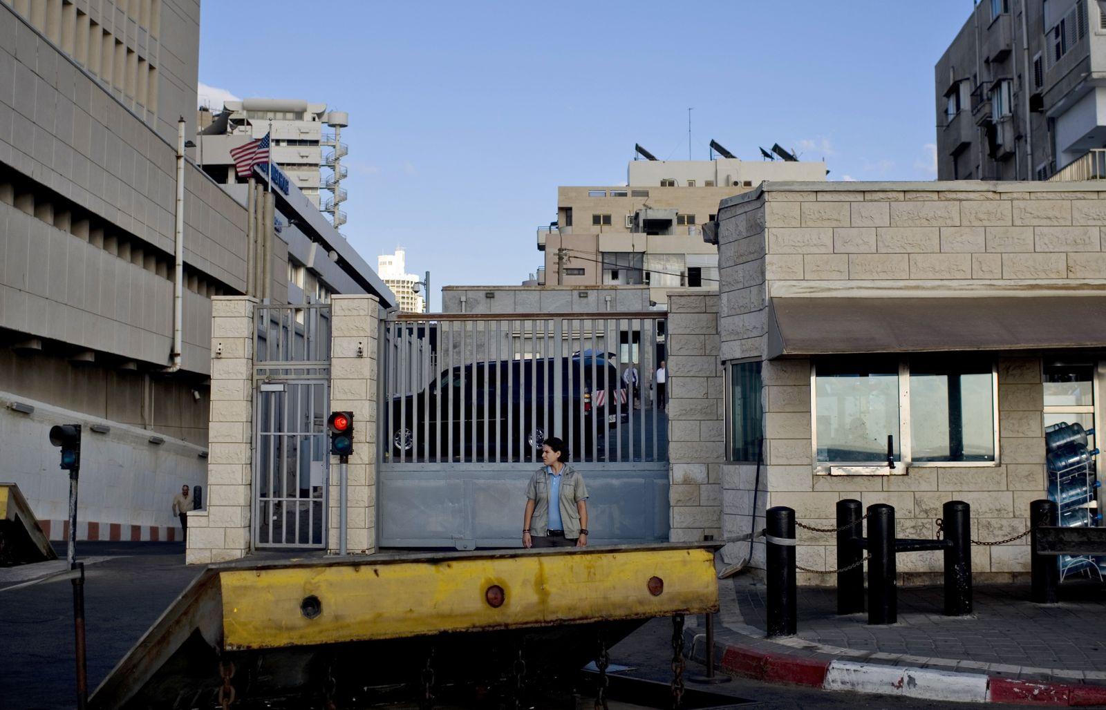 US Botschaft/ Tel Aviv/ Israel