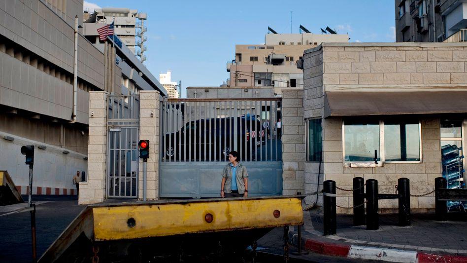 US-Botschaft in Tel Aviv (Archiv)