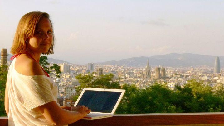 Digitale Nomadin: Arbeiten kann man überall
