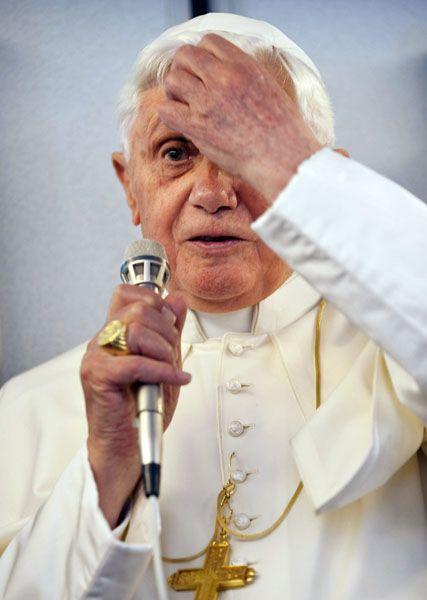 Papst Benedikt XVI.: Gute Marke
