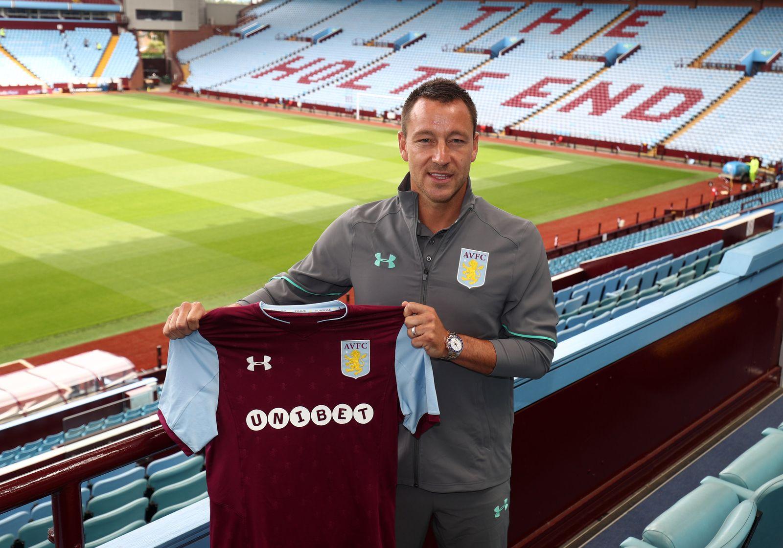 Aston Villa - Neuzugang John Terry
