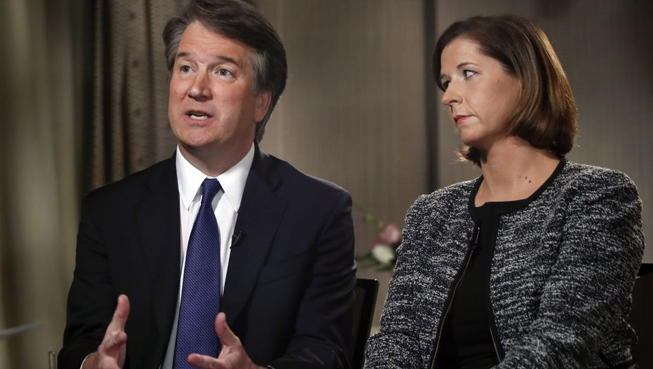 Brett und Ashley Estes Kavanaugh im Fox-News-Interview