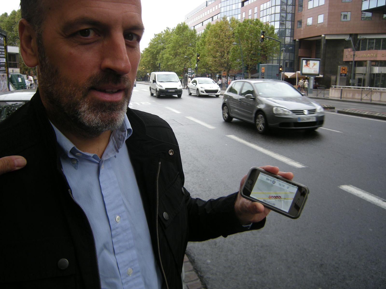 EINMALIGE VERWENDUNG Toulouse / GPS-gestützte Parkplatzsuche (Simons)