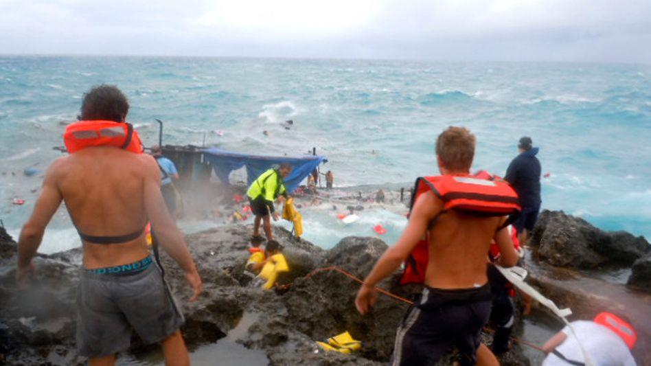 Australien: Dutzende Flüchtlinge ertrinken bei Schiffbruch vor Weihnachtsinsel