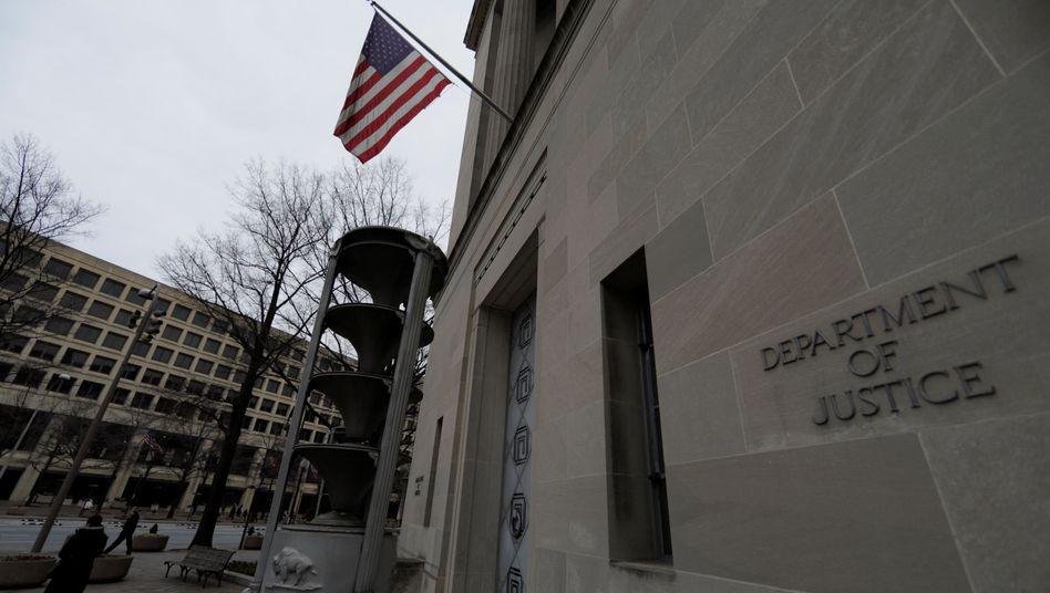 US-Justizbehörde in Washington (Archiv)