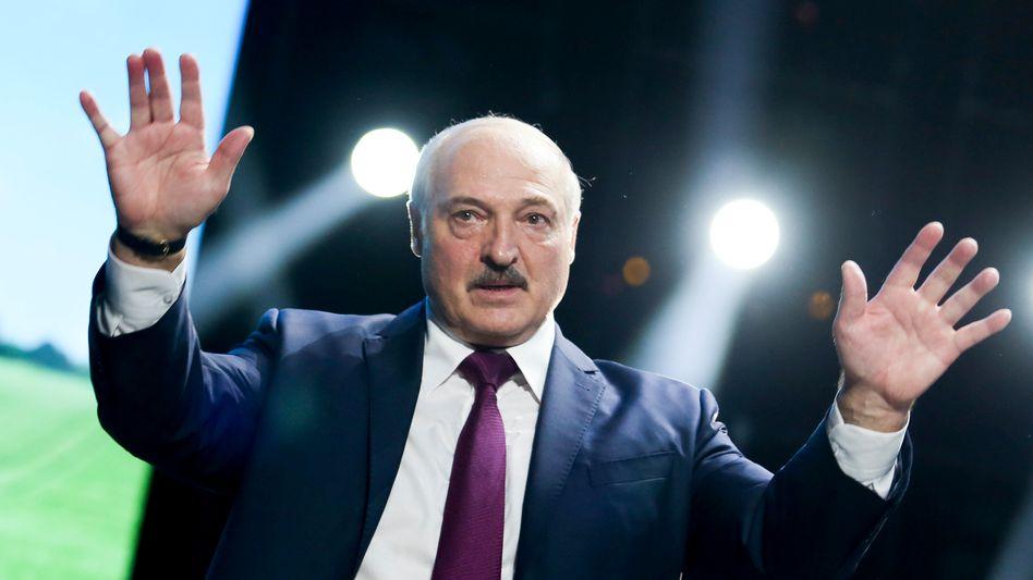 Diktator Lukaschenko: Angst vor wachsendem Einfluss Russlands