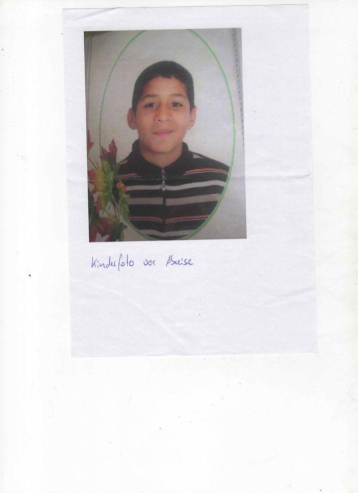 Marokkaner Abdul als Kind