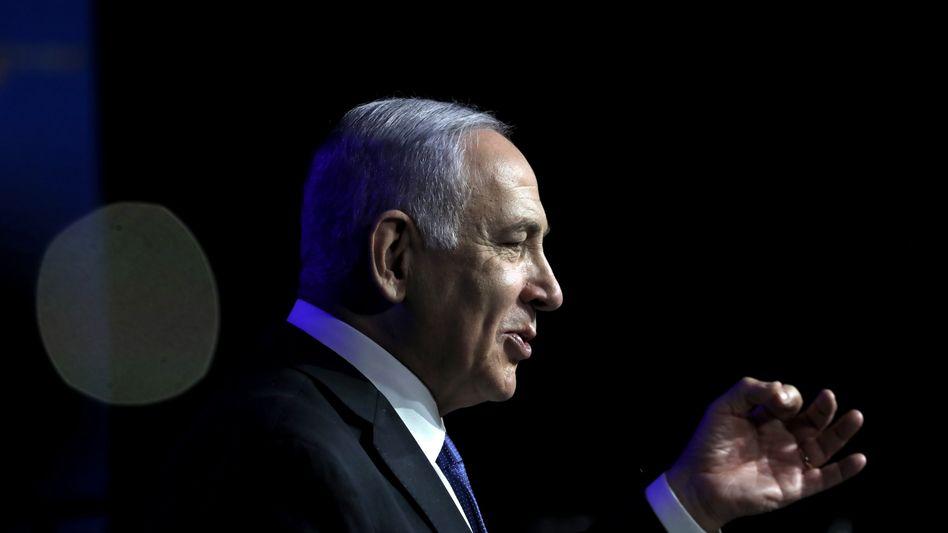 Benjamin Netanyahu stachelt seine Anhänger an