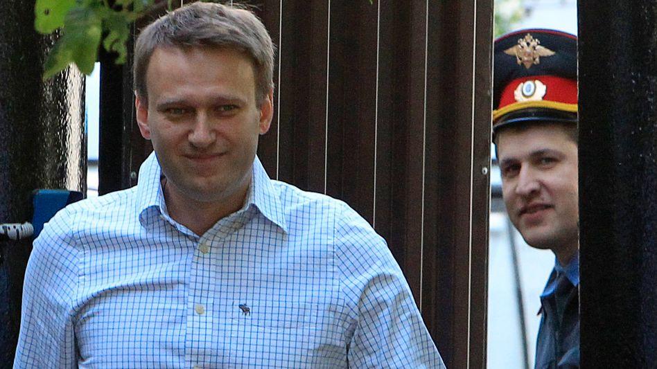 Kremlkritiker Alexej Nawalny im Jahr 2012