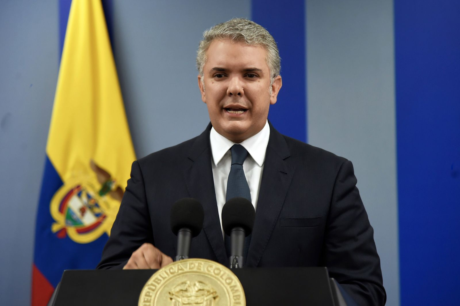 Iván Duque/ Kolumbien