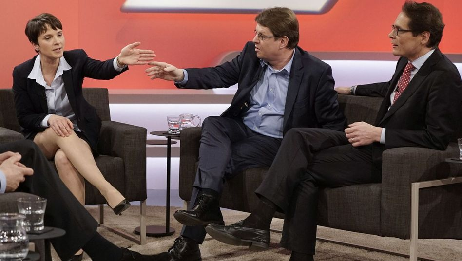 Maischberger-Talk: Alle reden zurzeit dauernd und ausschließlich mit der AfD
