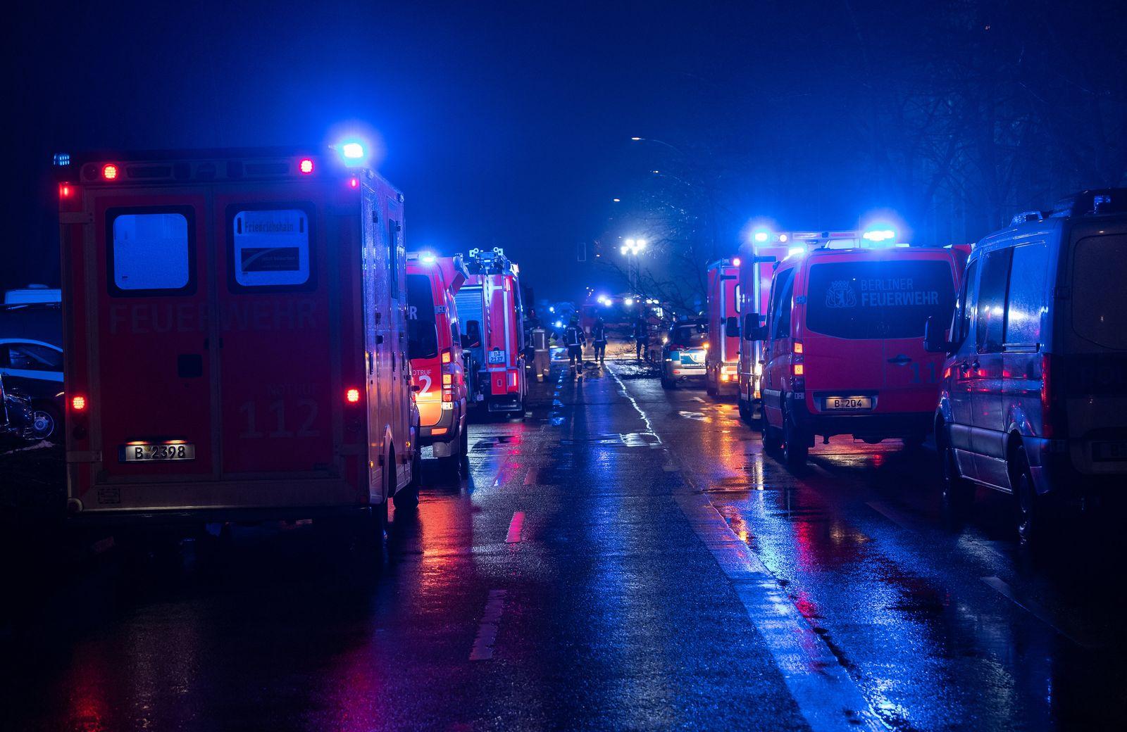 Tödlicher Autounfall am Treptower Park