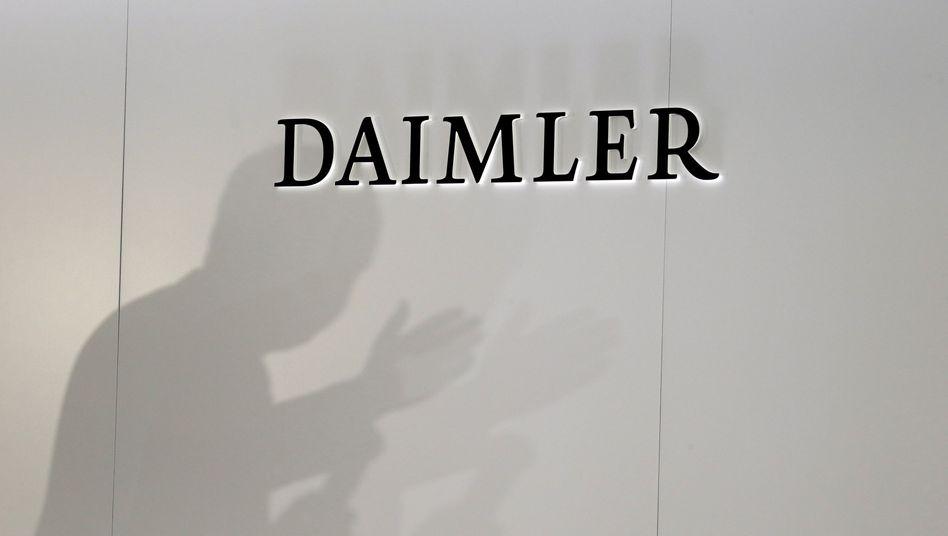 Daimler-Logo (Symbolbild)