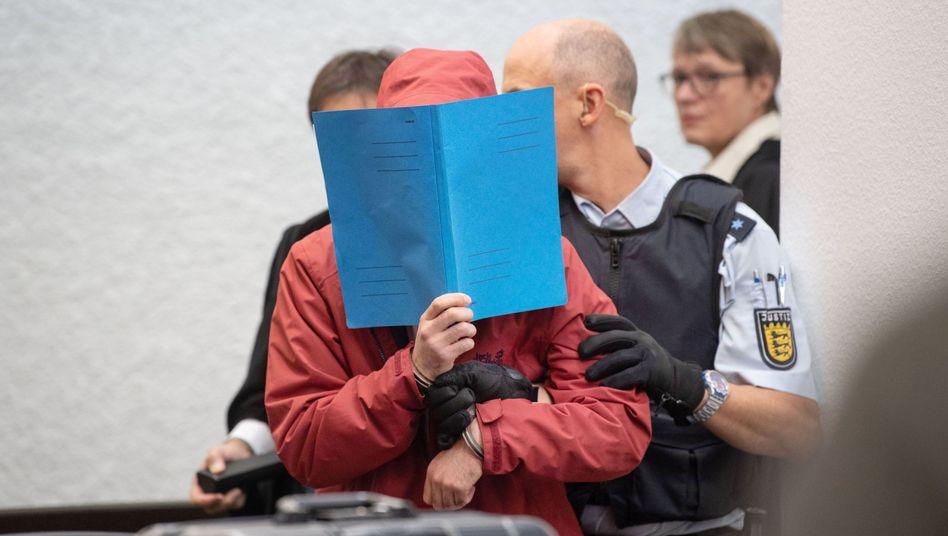 Angeklagter vor Gericht: Unterwegs mit 550 PS