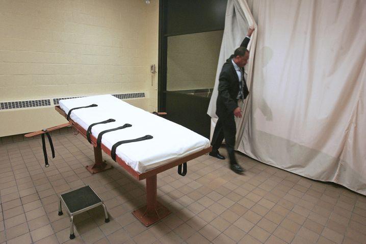 Mit Hilfe eines Tierbetäubungsmittels: Todespritsche in Ohio