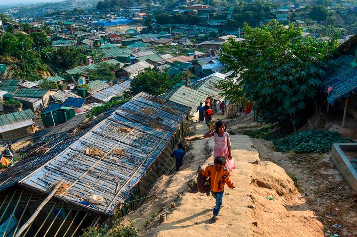Sudden events, such as the displacement of the Rohingya minority in Myanmar, are difficult for the algorithm to forecast.