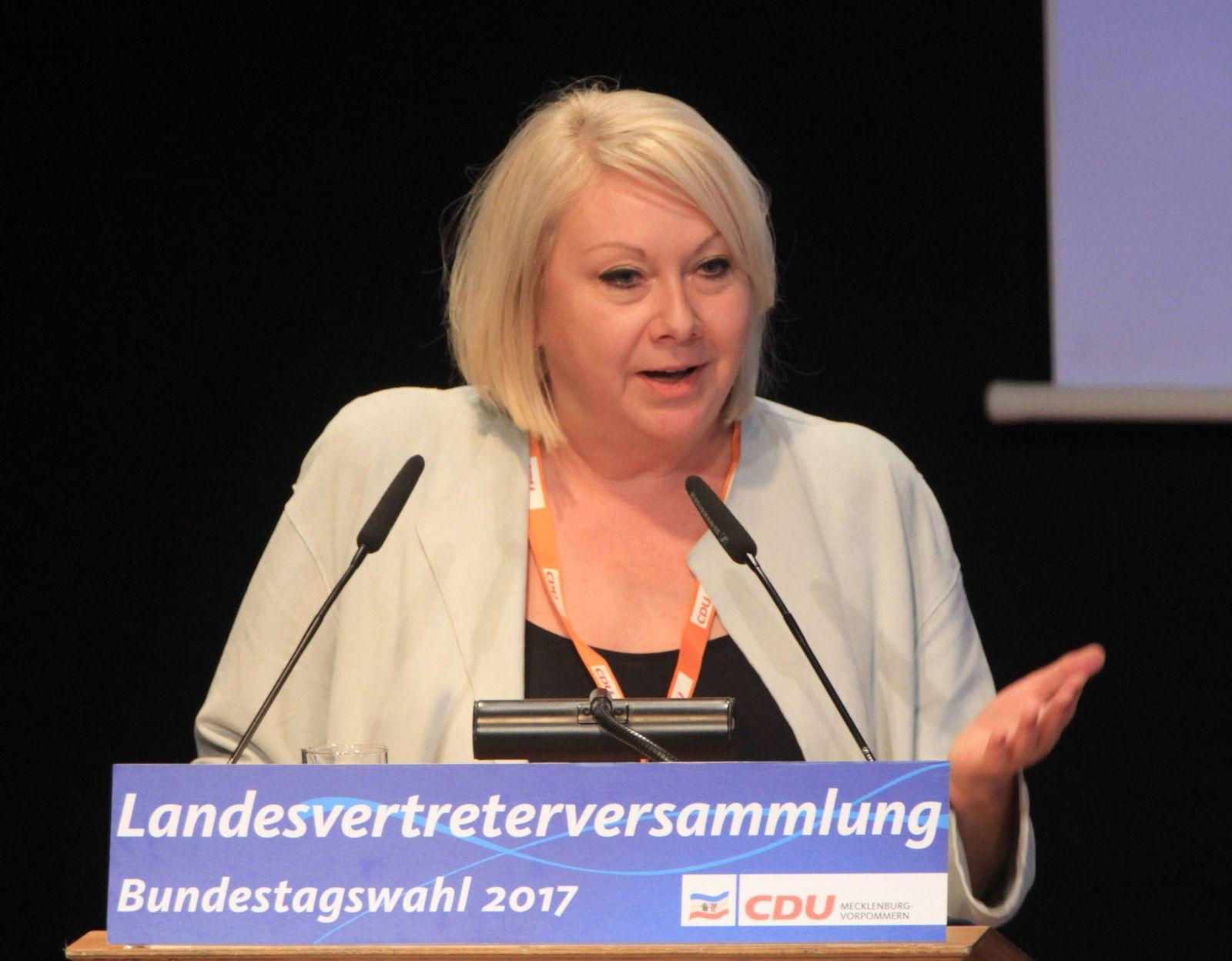 Landesvertreterversammlung der CDU Mecklenburg Vorpommern am Sonnabend 25 02 2017 in der Alten Br