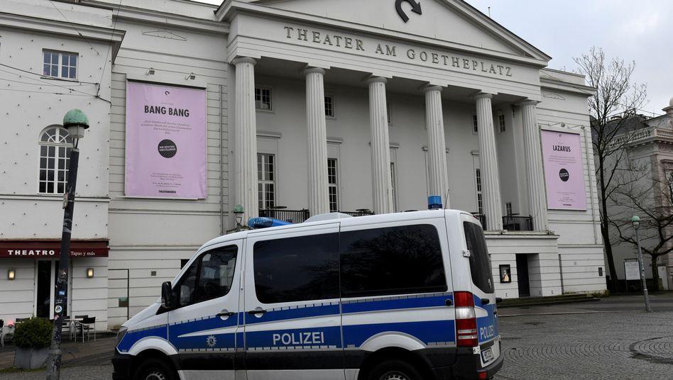 Spurensicherung am Tatort (Archiv)