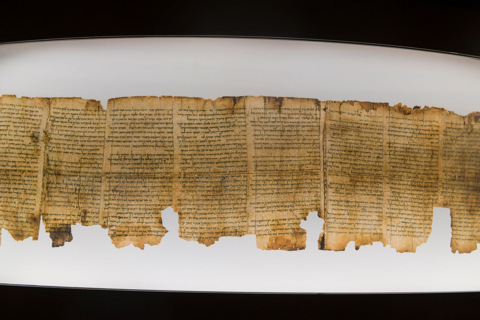 Schriftrollen, Schrein des Buches, Israel-Museum, Jerusalem, Israel *** Scrolls, Shrine of the Book, Israel Museum, Jeru