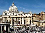 Petersdom in Rom: Der Papst nennt pädophile Priester Verbrecher