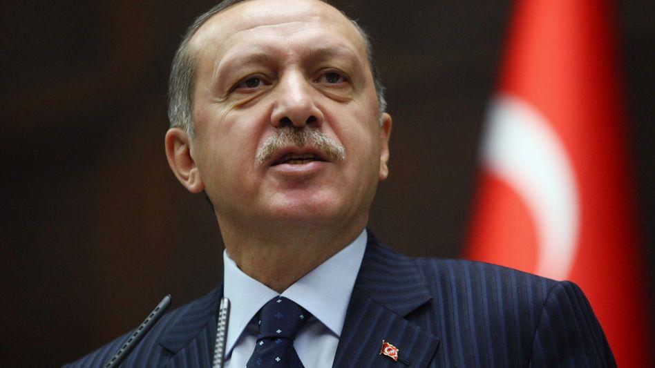 """Türkischer Ministerpräsident Erdogan: """"Kein Anlass zur Besorgnis"""""""