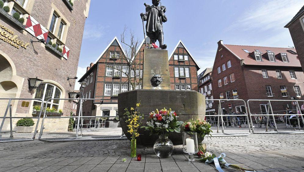 Auto fährt in Menschenmenge: Tote und Verletzte in Münster