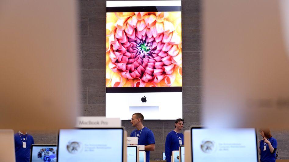 Imageträger: Apple Store in Berlin