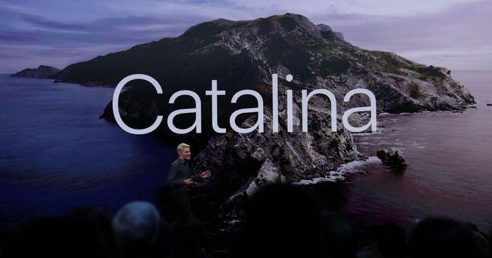 macOS 10.15 heißt Catalina