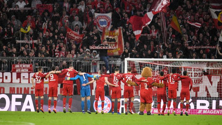 Bayern-Sieg gegen Mainz: King James