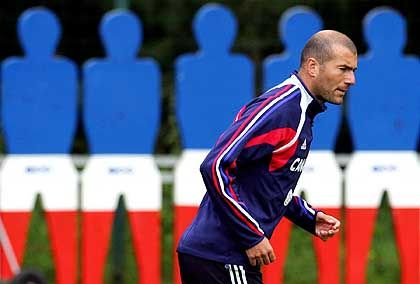 Zidane: Er spricht ernst, ehrlich, offen