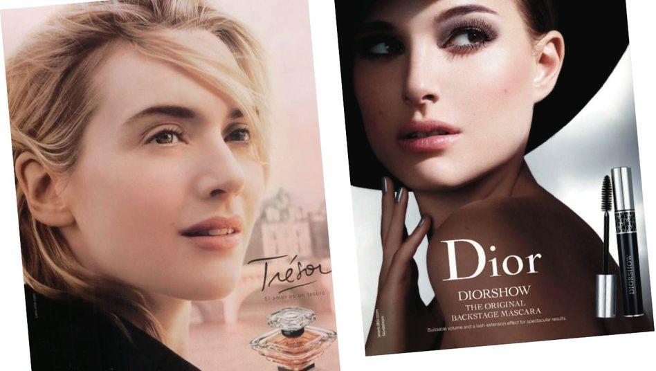 Kosmetik-Werbestars Winslet, Portman: »Wunderwirkung nicht belegt«