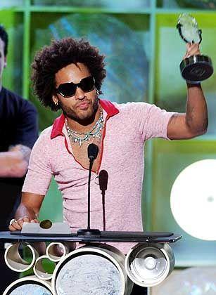 """Rocker Kravitz (am 26. Oktober bei der Verleihung der Radio Music Awards): """"Das Spielen allein ist ja eine Kleinigkeit"""""""