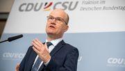 Unionsfraktionschef Brinkhaus wirbt für Merkron-Plan