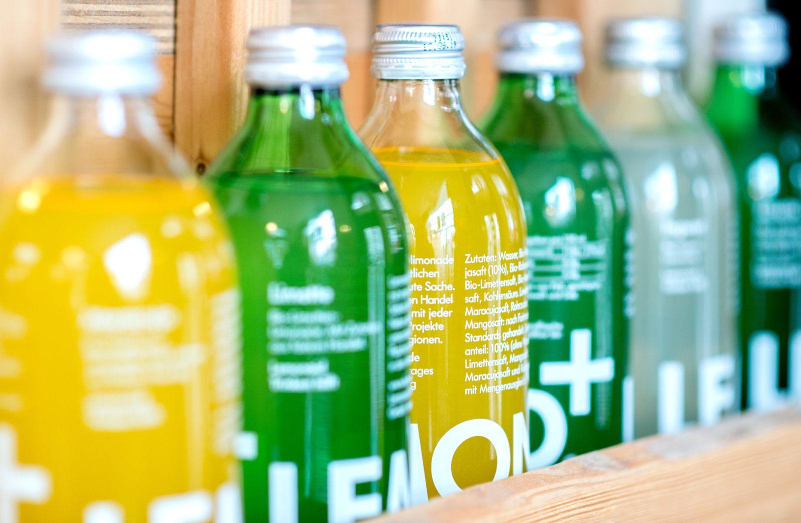 EINMALIGE VERWENDUNG Lemonaid Limonade
