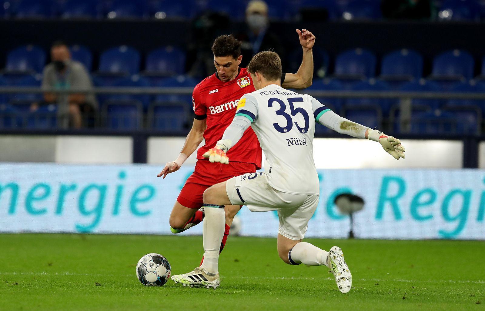 FC Schalke 04 vs Bayer 04 Leverkusen, Gelsenkirchen, Germany - 14 Jun 2020