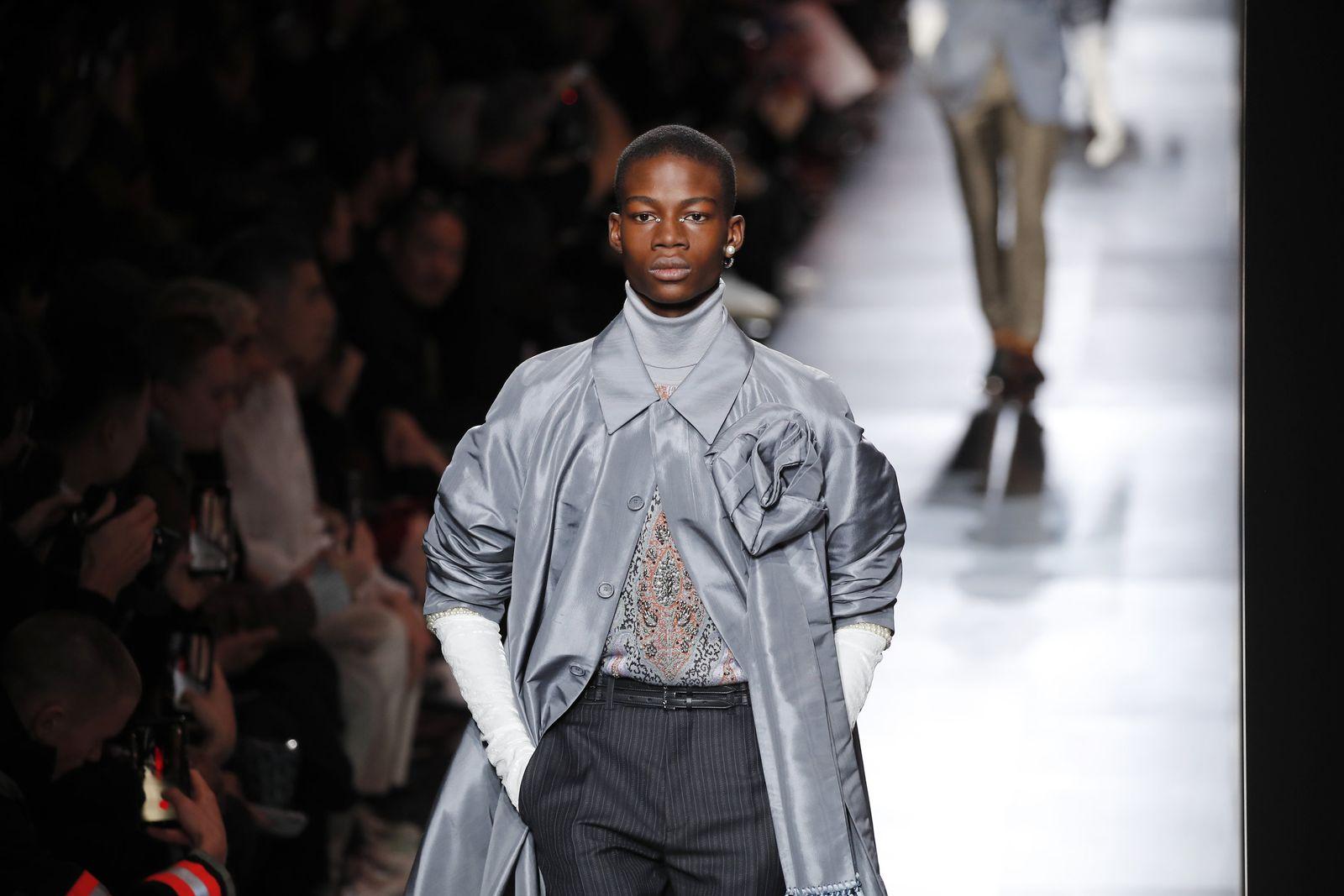 Paris Fashion Mens F/W 20/21 Dior Homme