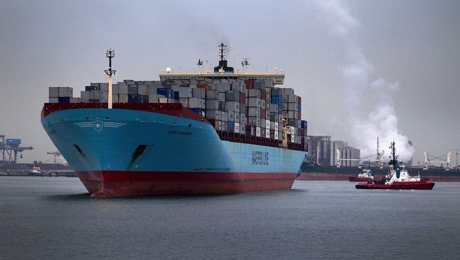 Schiff der Reederei Moeller Maersk: Der größte Konzern in Dänemark