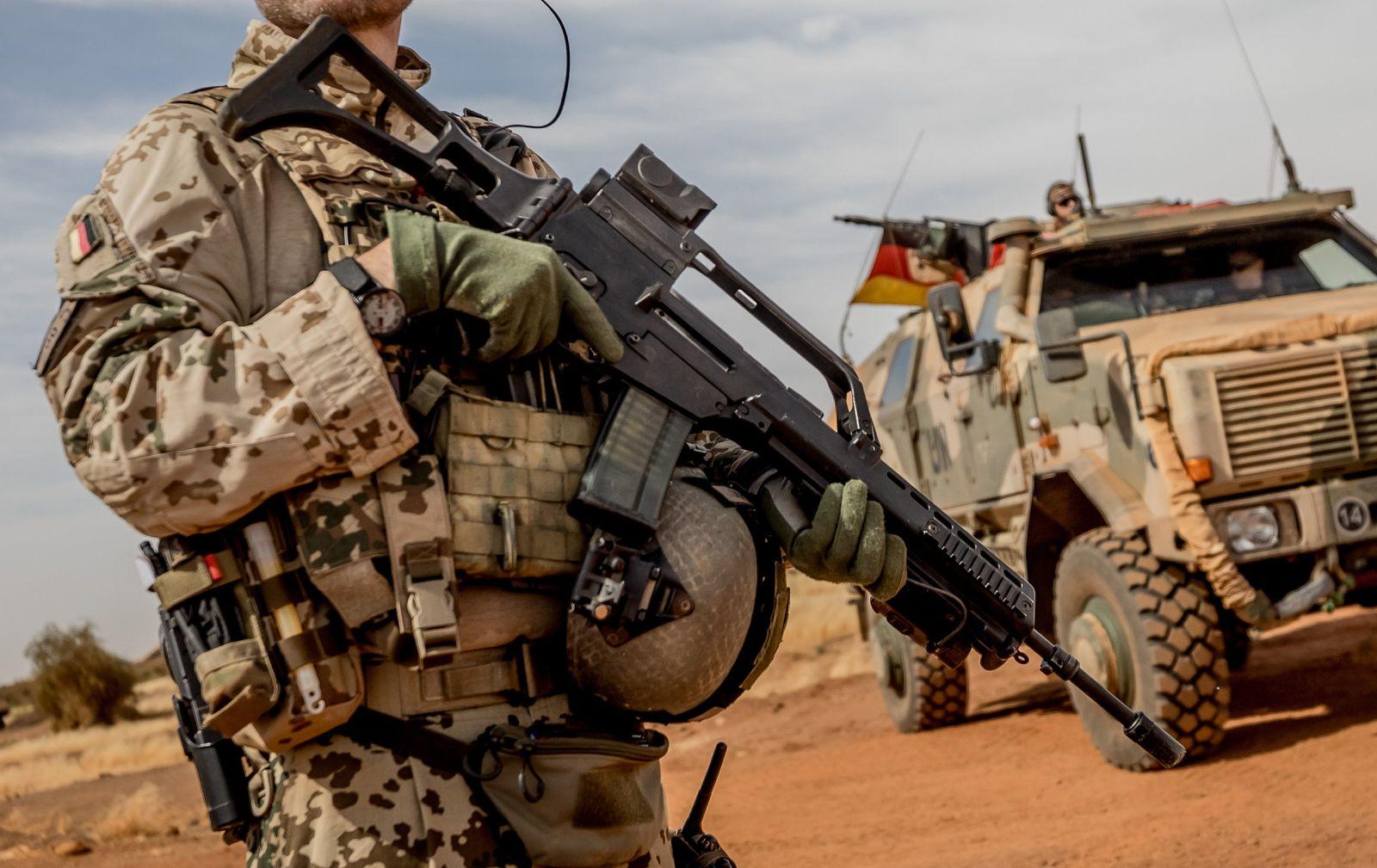 Bundestag - Bundeswehr in Mali