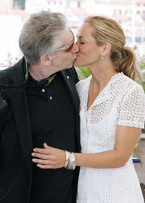 Cronenberg küsst seine Darstellerin Maria Bello: Amerikanisches Familienidyll