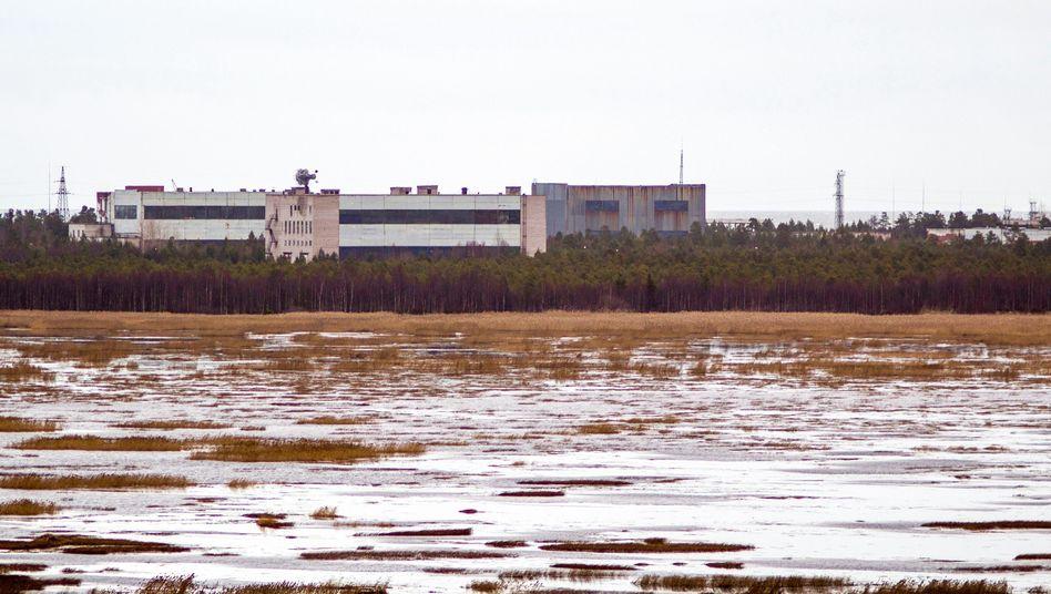 """Russisches Militärgelände Njonoksa am Weißen Meer: """"Sturmvogel"""" abgestürzt"""