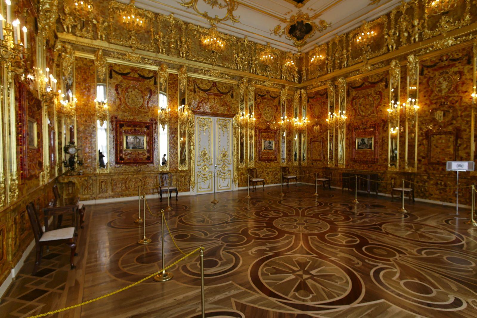 Bernsteinzimmer im Jekaterina-Palast