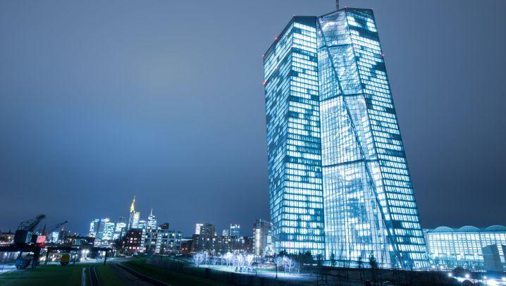 EZB-Zentrale: Gigant im Ostend