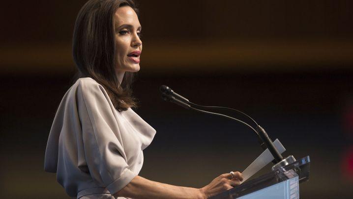 Angelina Jolie: Schauspielerin kämpft für Frauenrechte