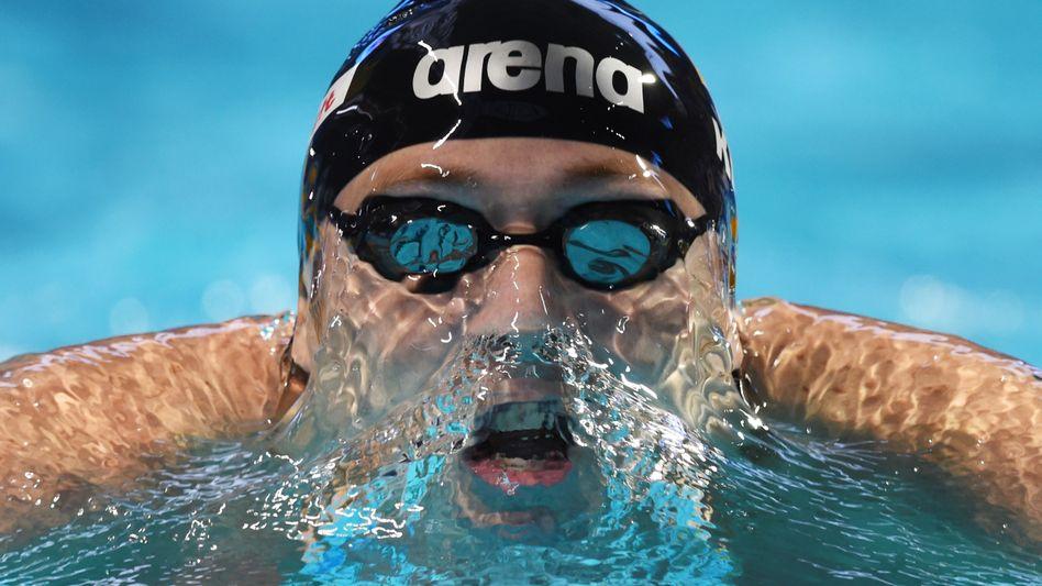 Schwimmer Koch: Gold über 200 Meter Brust