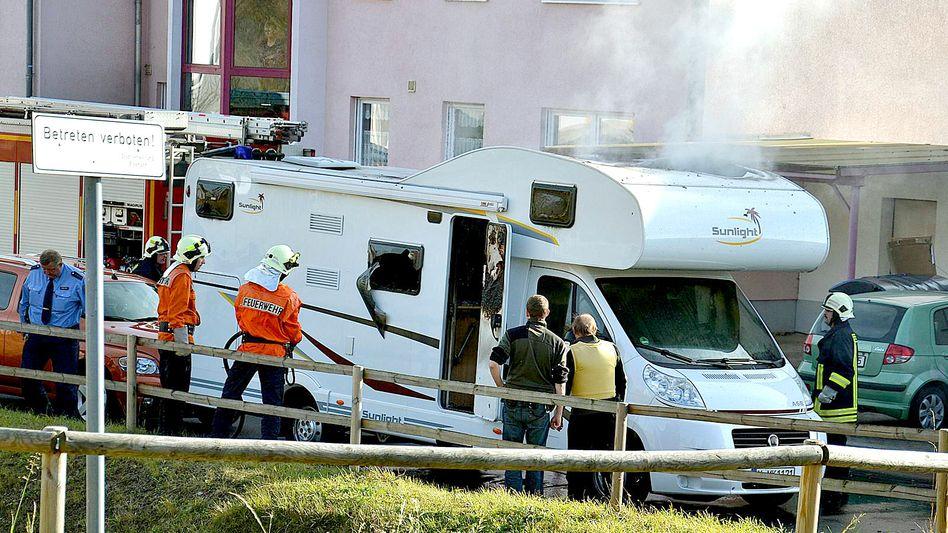 Wohnmobil in Eisenach: Hier starben Uwe Mundlos und Uwe Böhnhardt