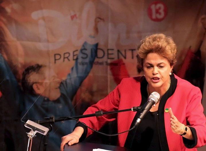 Brasilianische Präsidentin Rousseff: Verlust des Amtes droht