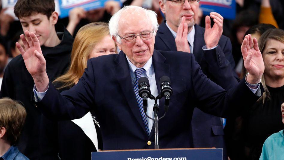 """Bernie Sanders in New Hampshire: """"Der Anfang einer politischen Revolution"""""""