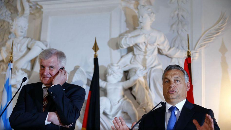 """Ungarns Premier Orbán bei der CSU: """"Die Südgrenzen Bayerns werden in Ungarn geschützt"""""""