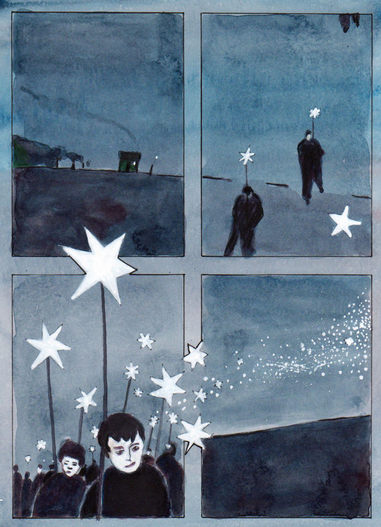 EINMALIGE VERWENDUNG Comic-Adventskalender 24.12./ Rittiner & Gomez